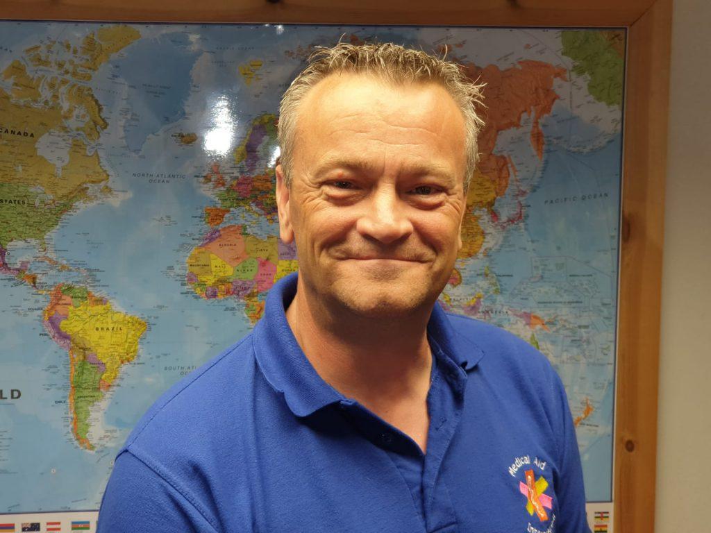 Medical Aid International Stuart Sheffield
